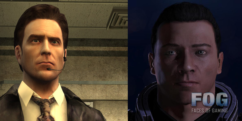 max payne game face