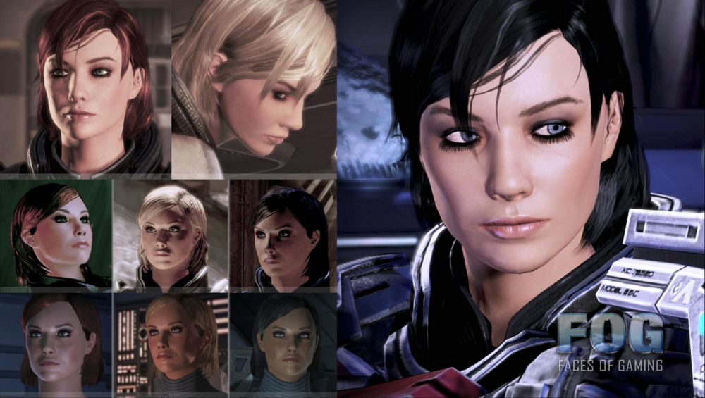 Sarah Shepard posted by JRsV based on ME3 Femshep art