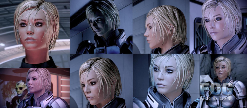 Scarlett Shepard posted by JRsV based on ME3 Scarlett