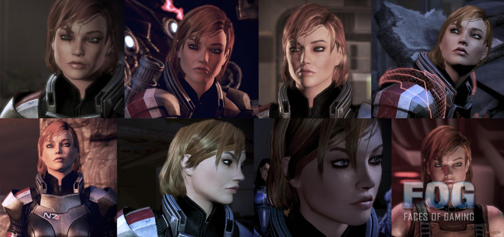 Maggie Shepard posted by JRsV based on ME2 Maggie
