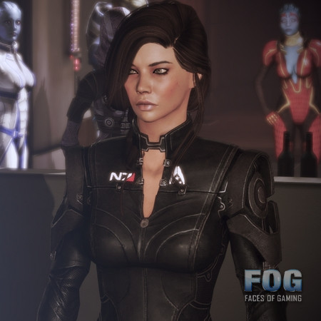 Jane Shepard posted by Daxeno