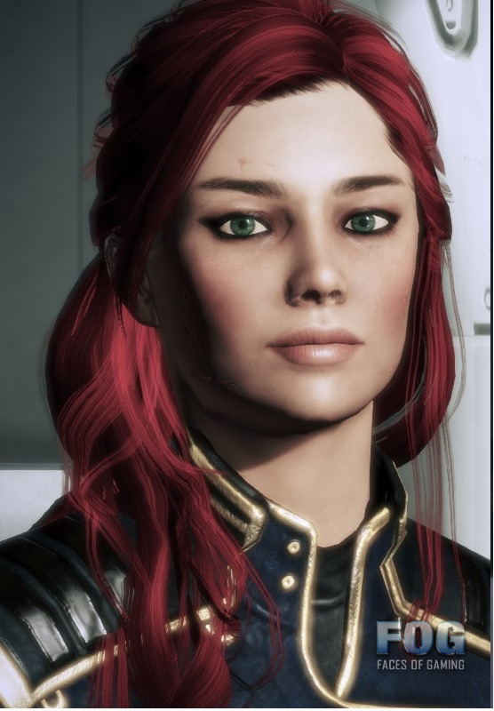 Emilia redone Shepard posted by Nekrolord based on Emilia by JRsV